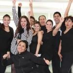 Stefania con el Ballet Puro México