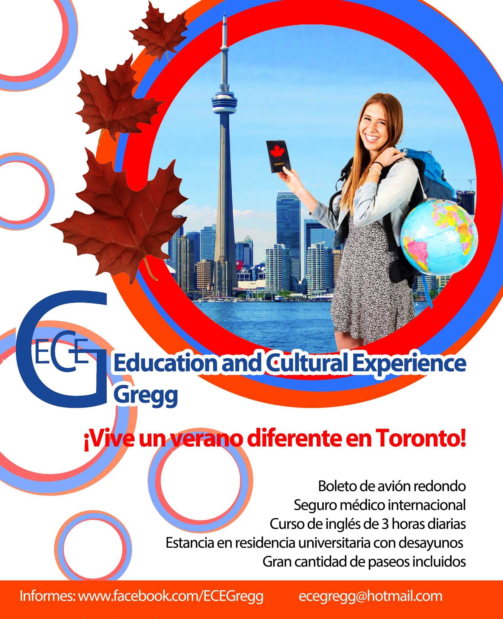 Curso de Verano en Toronto Canada.